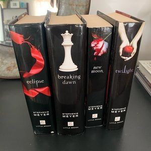 Twilight saga full book set